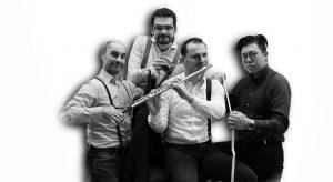 Jazz+! Horatiu Petrut Roman & Trio Tirantes im Alten Pfarrsaal Nöttingen @ Alter Pfarrsaal Nöttingen